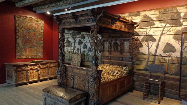 Спальня благопристойного норвежца