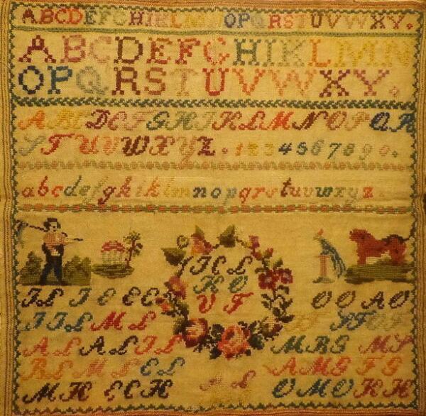 Фрагмент экспозиции «Розы и легенды в народном искусстве»