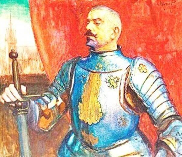 Портрет Эразма Баронча. художник Л. Вычулковский.