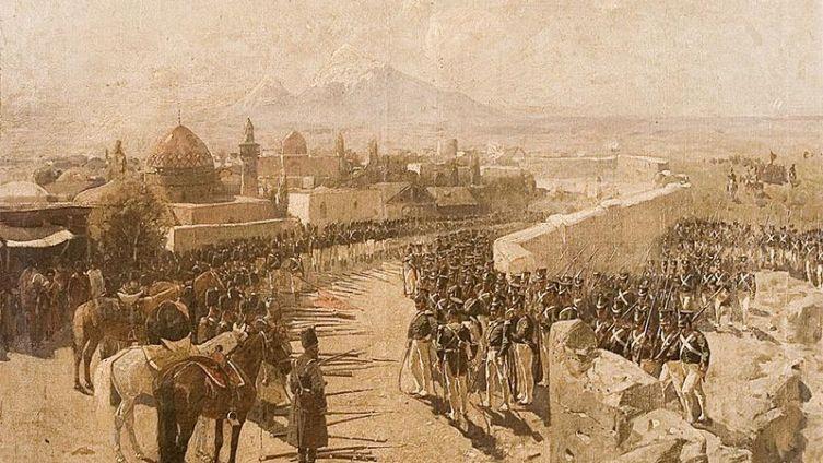 Взятие русскими войсками Эриванской крепости