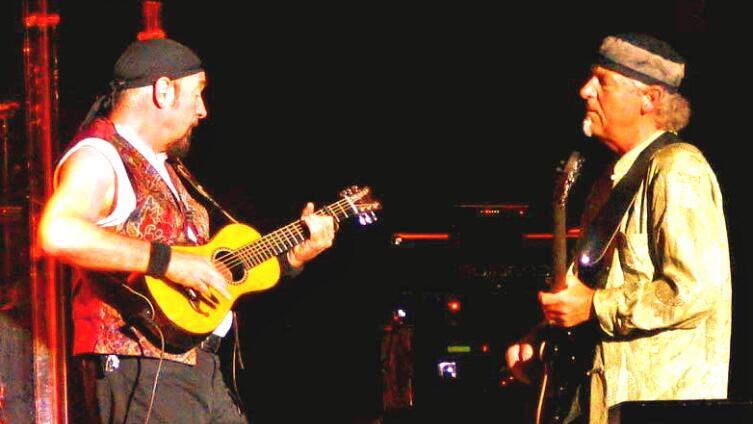 Ян Андерсон и Мартин Барре. Год 2006...