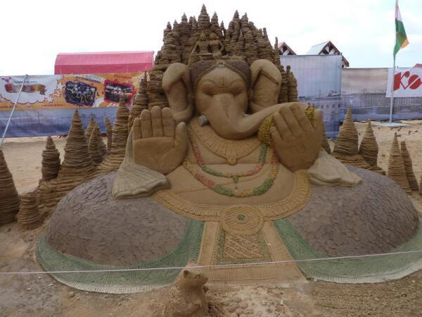 «Ганеша»— Сударсан Паткайк (Восточная Индия)
