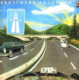 На обложке пластинки KRAFTWERK, оформленной Э. Шультом, мы можем видеть автобан из Кёльна в Бонн вместе с другими символами немецкой экономики— «Мерседесом» и«Фольксвагеном»