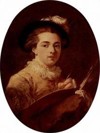 Жан Оноре Фрагонар «Автопортрет», 1760, Musée Fragonard, Grasse, Франция