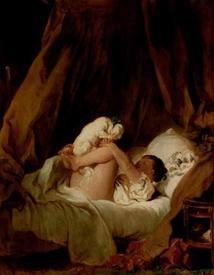 Фрагонар, «Девочка с собачкой», 89 × 70 см, Старая пинакотека, Мюнхен, Германия