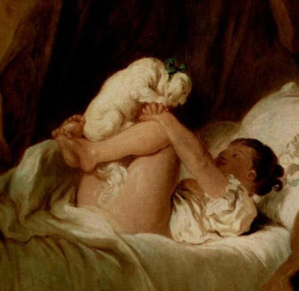 Девочка с собачкой, Фрагмент