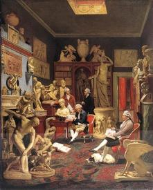 Иоганн Цоффани  «Чарльз Тоунли с друзьями в галерее Парк-стрит, Вестминстер», 1782