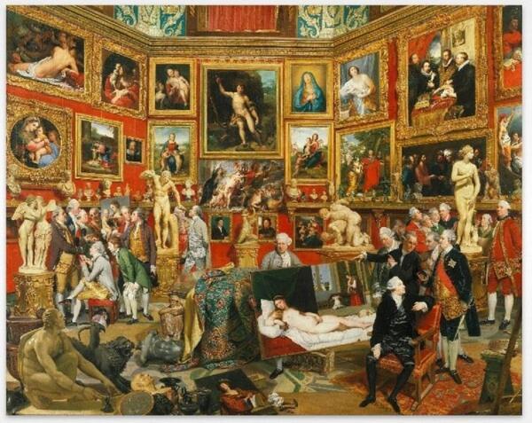 Иоганн Цоффани «Галерея Уффици», 1777
