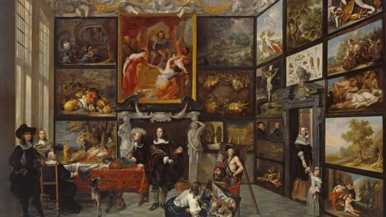Джекоб Форментроу (Jacob Formentrou), Картинная галерея, 1659