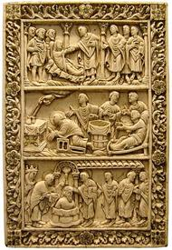 Обложка евангелия архиепископа Реймса, Medieval Picardie Museum, Амьен, Франция