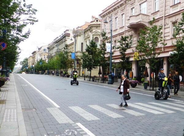 В связи с гей-парадом движение по улице Гидеминаса перекрыто