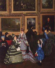 Cabaillot Lassale Camille Leopold, Le Salon de 1874, частная коллекция