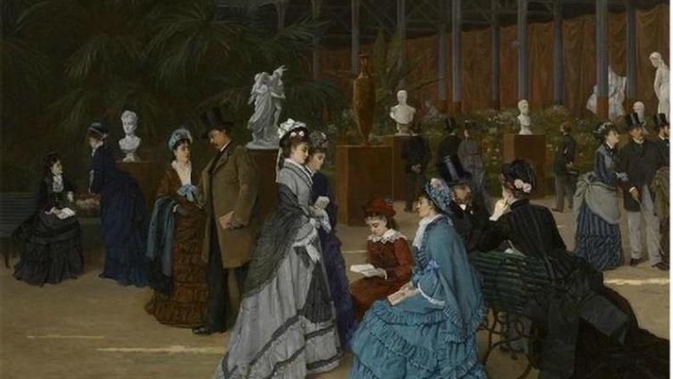 Cabaillot Lassale Camille Leopold, Выставка скульптуры, 1879, частное собрание