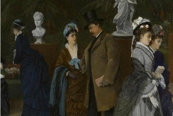 Cabaillot Lassale Camille Leopold, Выставка скульптуры, фрагмент