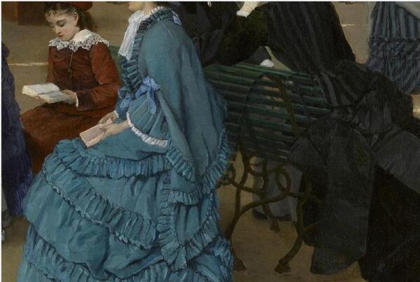Cabaillot Lassale Camille Leopold, Выставка скульптуры, фрагмент «Девочка»