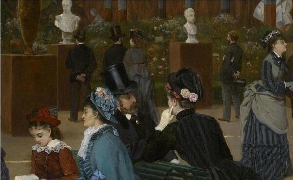 Cabaillot Lassale Camille Leopold, Выставка скульптуры, фрагмент «Шляпки»