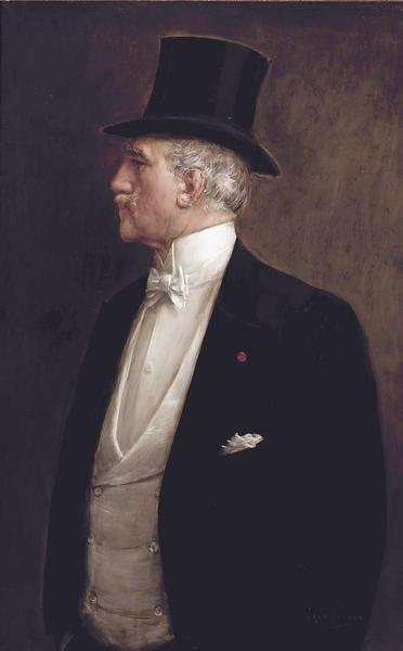 Жан Беро, Автопортрет, 1909