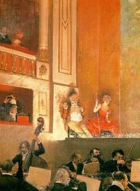 Жан Беро, Представление в театре «Варьете», 1888