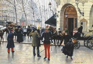 Художник Жан Беро бродит по Парижу. Прогуляемся с ним?