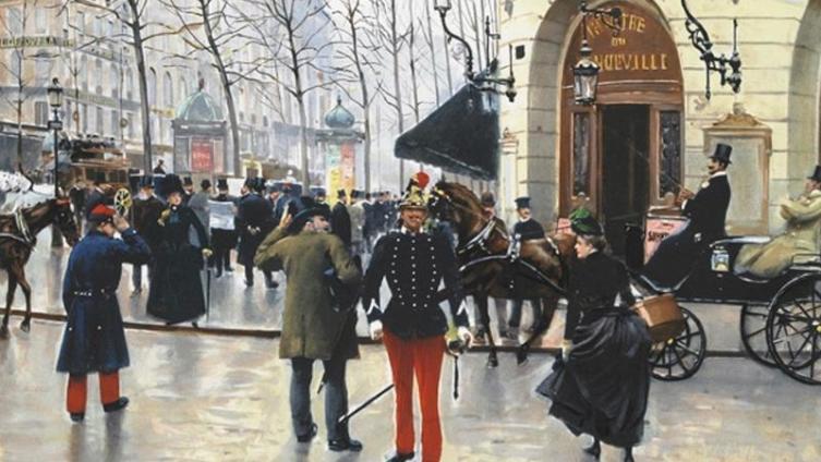 Жан Беро, Театр «Водевиль»
