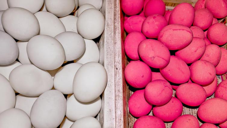 Яйца в перьях, яйца девственника, яйца железные,  яйца красные и столетние. Что это такое и с чем это едят?