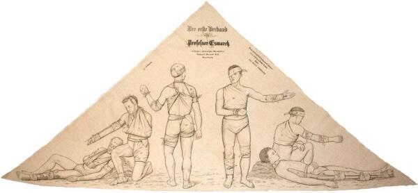 Использование бандажа Эсмарха