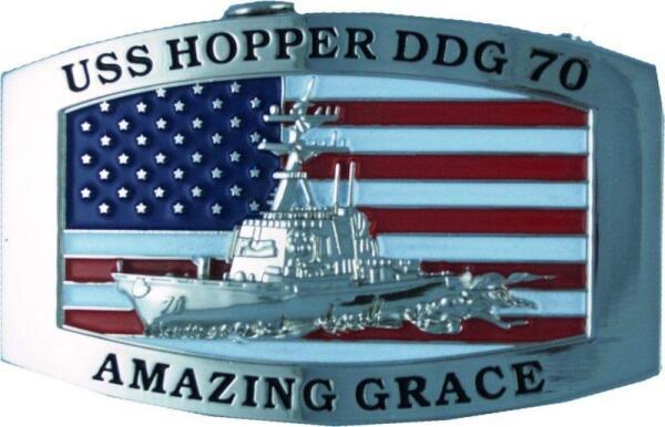 Пряжка моряков с фрегата «Hopper»