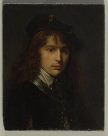 Герард Доу, Автопортрет, 1631, Бруклинский музей, Нью-Йорк, США