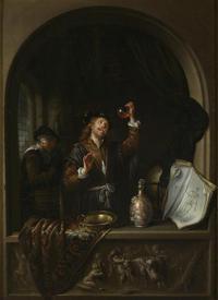 Герард Доу, Терапевт, 1653, 49х37, Музей истории искусств, Вена, Австрия
