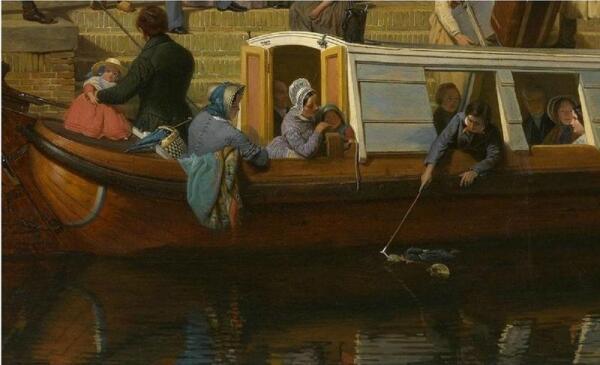 Валентин Бинг, Станция на канале в Утрехте, Фрагмент «Кукла в воде»
