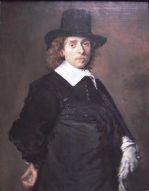 Франс Хальс: Портрет Адриана ван Остаде, 1646–1648, 94 × 75 см, Национальная галерея искусств, Вашингтон, США