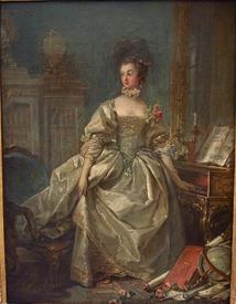 Франсуа Буше, маркиза де Помпадур, 1750, 65х45 см, Лувр, Париж, Франция