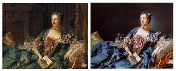 Портреты 1756 и 1758 годов