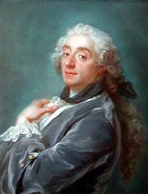 Густав Лундберг, портрет Франсуа Буше