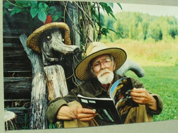 Эдгар Вальтер на хуторе в Вырумаа