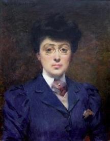 Луиза Аббема, автопортрет, 1880