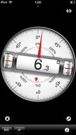 Клинометр, iOS
