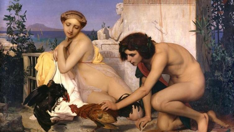 Жан-Леон Жером, Петушиный бой, 1846