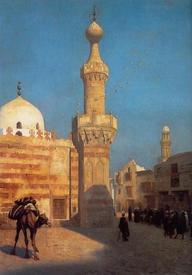 Жан-Леон Жером, «Вид Каира»