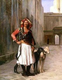 Жан-Леон Жером, Албанец в Каире