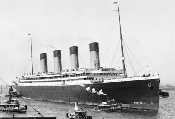 «Олимпик» впервые в Нью-Йорке 22 июня 1911 года