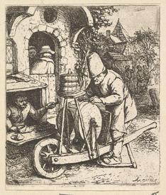 Адриан ван Остаде, Точильщик, Метрополитен музей, Нью-Йорк, США.