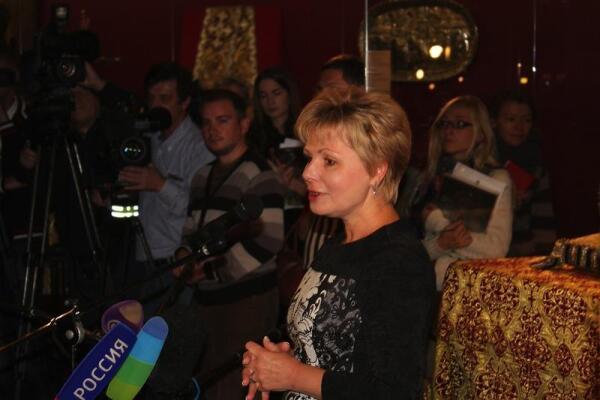 Генеральный директор Музеев Кремля Гагарина Елена Юрьевна