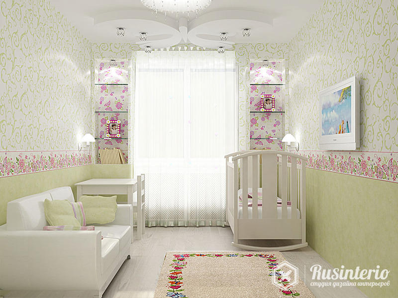 Комната для родителей с маленьким ребенком дизайн