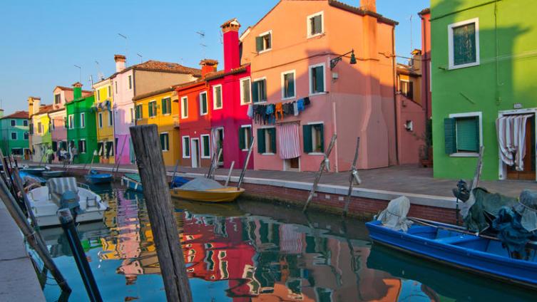 Венецианский остров Бурано: разноцветное чудо?