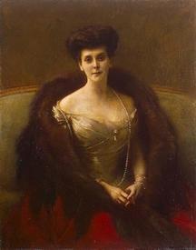 Паскаль Даньян-Бувре, Портрет графини Гогенфельзен                                      (принцесса Ольга Палей),