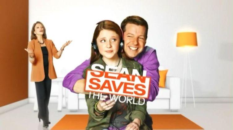 Заставка к сериалу «Шон спасает мир»