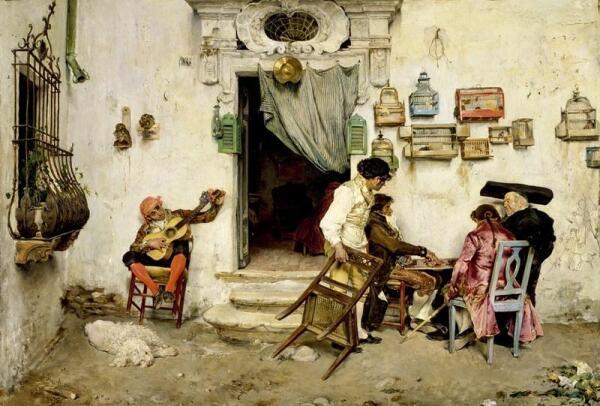 Хосе Хименес Аранда, Римский цирюльник, 1875