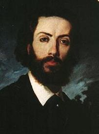 Хосе Хименес Аранда, автопортрет, 1870