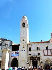 На крепостной площади старинного города Дубровника